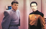 Data et Spock