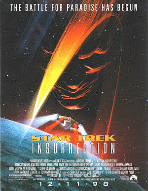 Affiche de Star Trek: Insurrection